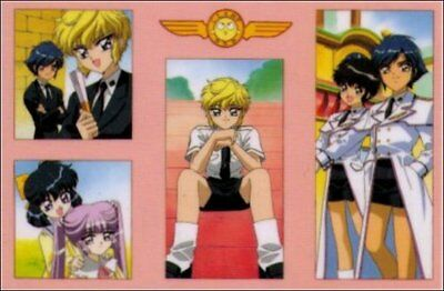 Clamp School Detectives Trading Card 0697C