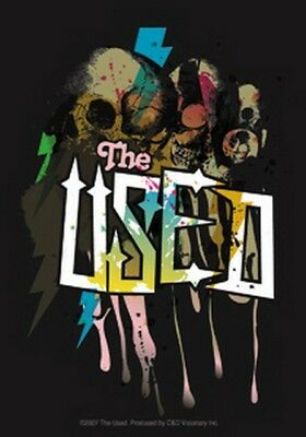The Used Skull Sticker S-5604