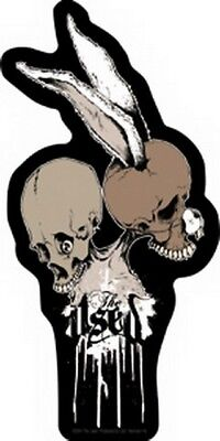The Used Skull Bunny Sticker S-3968