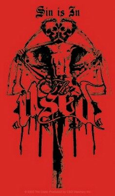 The Used Sin Is In Sticker S-4265