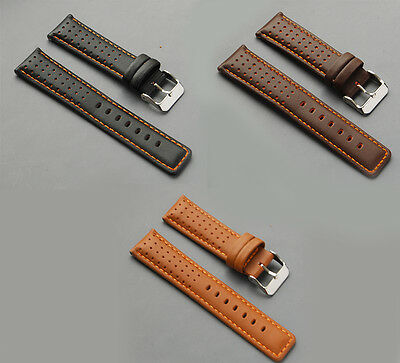 Diloy  Echt Leder Uhrenarmband 18mm 20mm  watch strap