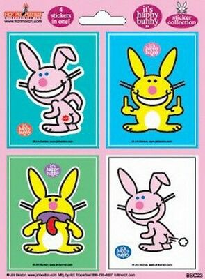 Happy Bunny Gestures Sticker Set BSC23