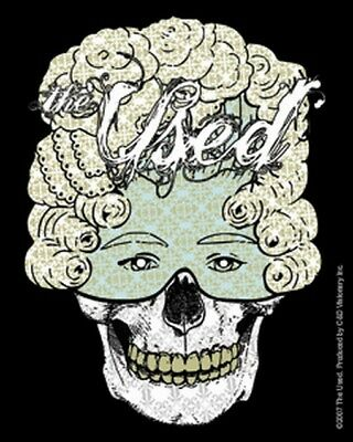 The Used Skelemask Sticker S-5664