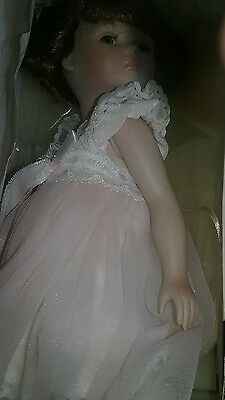 "1997 Marie Osmond MIRACLE CHILDREN ""DOTTIE ANNE""  10.5"" Porcelain Doll COA~TAGS"