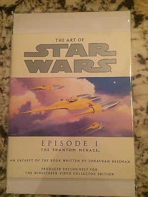 Star Wars the art of Episode 1 video collector edition