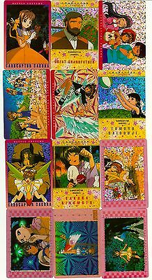 Cardcaptor Sakura Prism Li Tomoyo Sticker Card Set of 50 - Anime Animation Lot