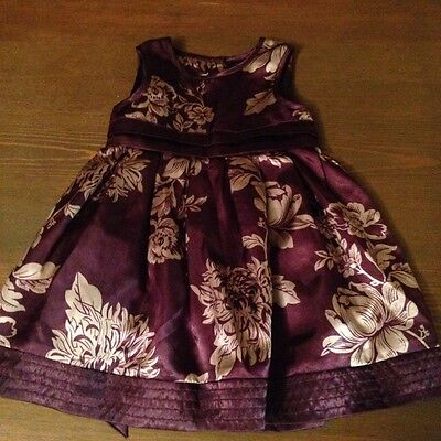 Baby Girls Monsoon Dress Age 0-3 Months
