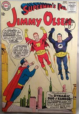 Superman's Pal Jimmy Olsen #69 (DC 1963) 52 year old classic in VG/FN condition.