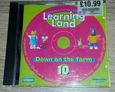 Learning Land-Discover & Play On Your Pc-Cd-Rom 10# *down The Farm*