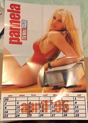 2  Large PAMELA ANDERSON POSTERS and More Pamela / Baywatch