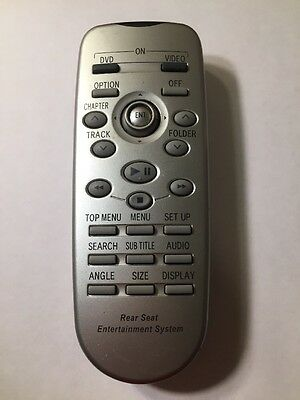 OEM Toyota Rear Entertainment Remote Conntrol Rear DVD 86170-45020