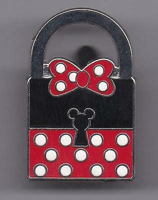 DISNEY PIN - Lock: Minnie Mouse - Limited Release (Disney Trading Pin, 2013)