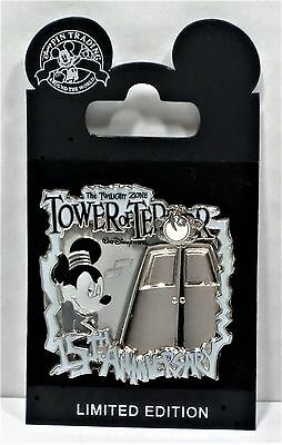 Disney Tower of Terror 15th Anniversary Mickey As Bellhop Pin 3-D LE 1313 RARE
