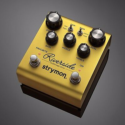 STRYMON Riverside Multistage Drive Overdrive Effects Pedal - Authorized Dealer!