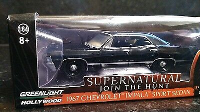 SUPERNATURAL 1967 Impala Lootcrate Exclusive 1:64 Scale Diecast GREENLIGHT