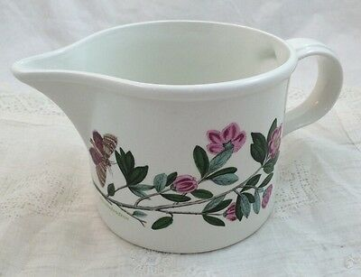 1972 THE BOTANIC GARDEN Portmeirion Butterfly Cream Pitcher Jug