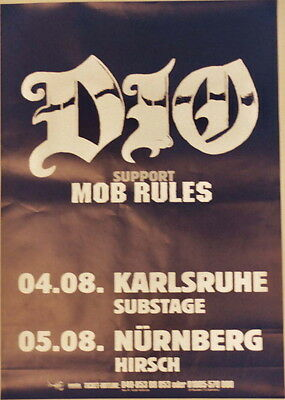 Dio Concert Tour Poster 2004 Master Of The Moon