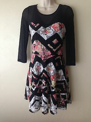 Madonna Material Girl Lace Flower Dress Macy's Valentines Day Gift