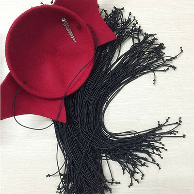 5pcs/100pcs 13'' Hat Elastics Millinery Fascinators Securing a Headpiece B104