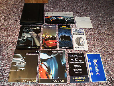 2011 Jaguar Xf Complete Car Owners Manual Books Nav Guide Case All Models