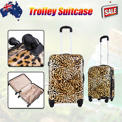 "20""/24'' Luggage ABS Suitcase Trolley Hard Case Carry On Lightweight & TSA Lock"