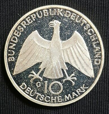1972  Germany   Silver  10  Mark   Coin, (Munich  Olympics).....