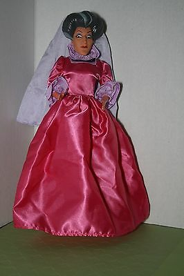 Vintage Barbie Cinderella Evil Stepmother Costume Dress And Mask For Doll