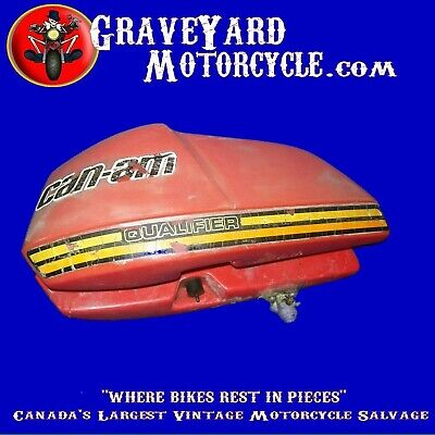 1975,-1977 Can-Am Canam Qualifier Gas Tank Fuel Petrol Tank Oem