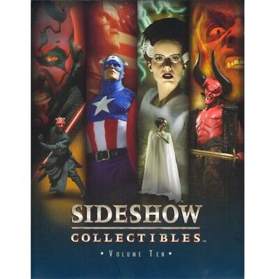 Livre catalogue sideshow collectibles statues bustes diorama hot toys vol.10
