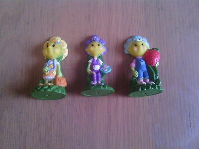3 X Fifi Figures/ Cake Toppers