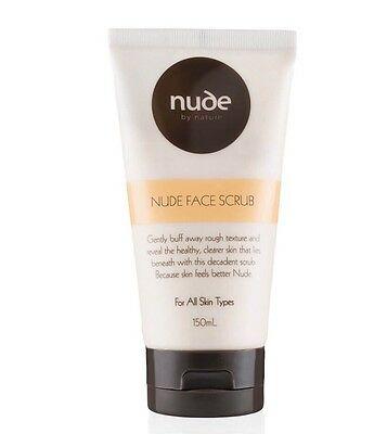 Nude By Nature -  Face Scrub Brand New & Sealed Full Size 150ml