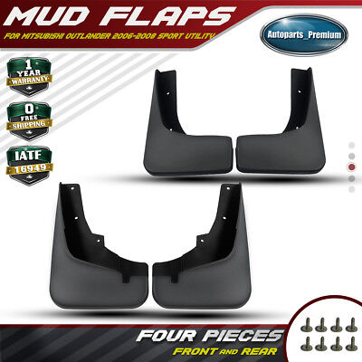 4pcs Splash Guards Mud Flaps for Cadillac Escalade Hybrid 2007-11 2012 2013 2014