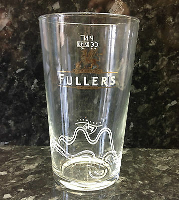Fuller's Griffin Brewery Pint Glass.