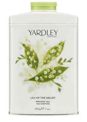 Yardley Lily of the Valley Fragranced Talc 200g