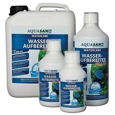 12,98€/l Traitement de l'eau AQUASAN WaterCare Protection mit Aloe Vera &