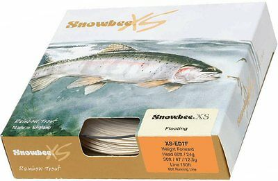 Snowbee XS Fly Fishing Line WF7F - Used once immaculate