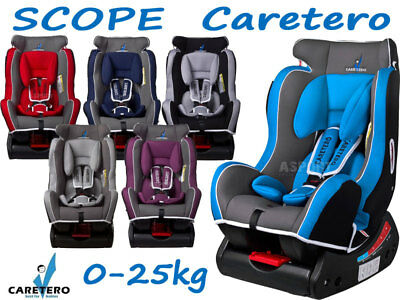Caretero SCOPE Kindersitz Autositz gruppe 0+ 1-2 (0-25kg)