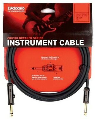 D'Addario Planet Waves PW-AG-10 Circuit Breaker Guitar / Instrument Cable. 10ft.