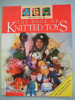 The Book of Knitted Toys - ABC - Knitting Pattern Book - Bananas in Pyjamas