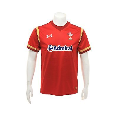 Adults XLarge Wales Rugby Home Supporters Shirt 15/16 Red H67