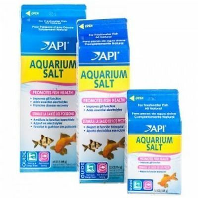 API Aquarium Tonic Salt Water Conditioner 454G, 933G, 1.8kg Fish Medication