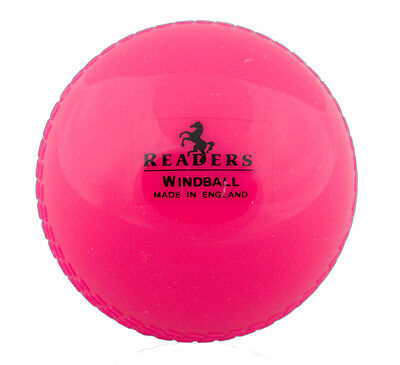 Readers Pink Cricket Windball Size Youths