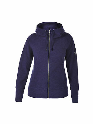 Berghaus Womens Ladies Carham Fleece Hooded Jumper Jacket in Dark Blue
