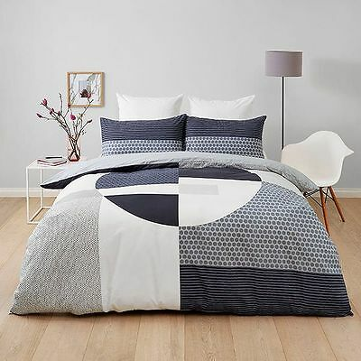 NEW Industry Block Quilt Cover Set Quilt Cover Size: