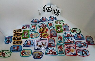 LOT OF 38 Girl Scout Uniform Patches - UNUSED!!!