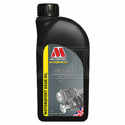 Millers CRX 75w90 NT+ Competition full synthetic transmission oil 1 Litre - 2017