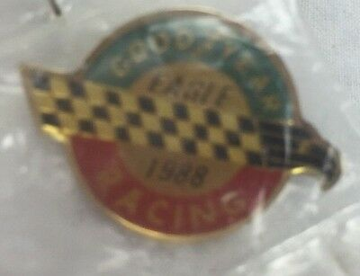 NEW Goodyear Tires Racing Eagle Lapel/Hat Pin 1988 Drag Races