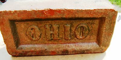 Pack Of 5 Nice Old Authentic Collectible Ohio Bricks ~ Go Buck ~ Ships Free Usa*
