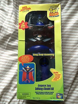 Toy Story Thinkway Emperor Zurg Talking Model Kit Brand New Unopened  Working.