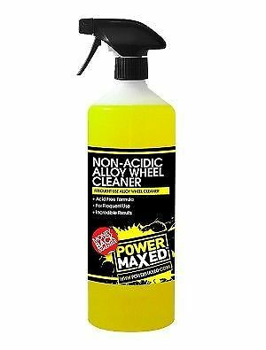 Power Maxed Non-Acidic Alloy Wheel Cleaner - 1 Litre